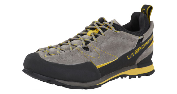 La Sportiva Boulder X Approach Shoes Unisex grey/yellow
